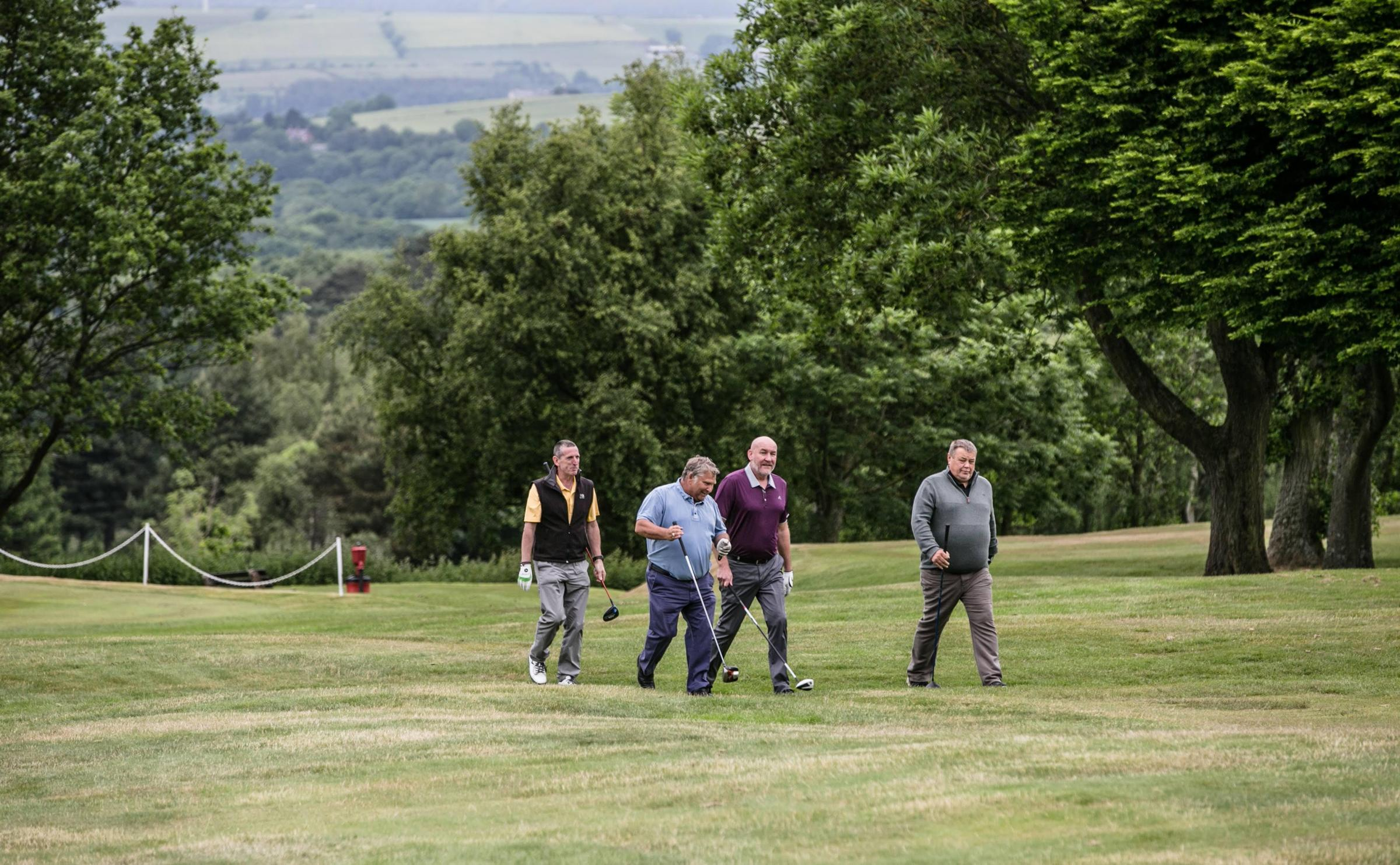 Golfers get together for Bishop Auckland Rotary Club's annual fundraiser