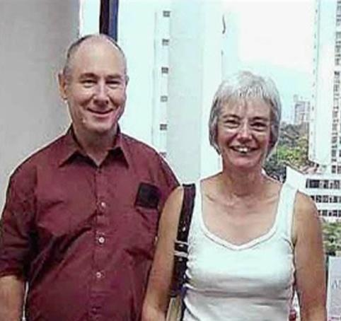 John and Anne Darwin pictured in Panama
