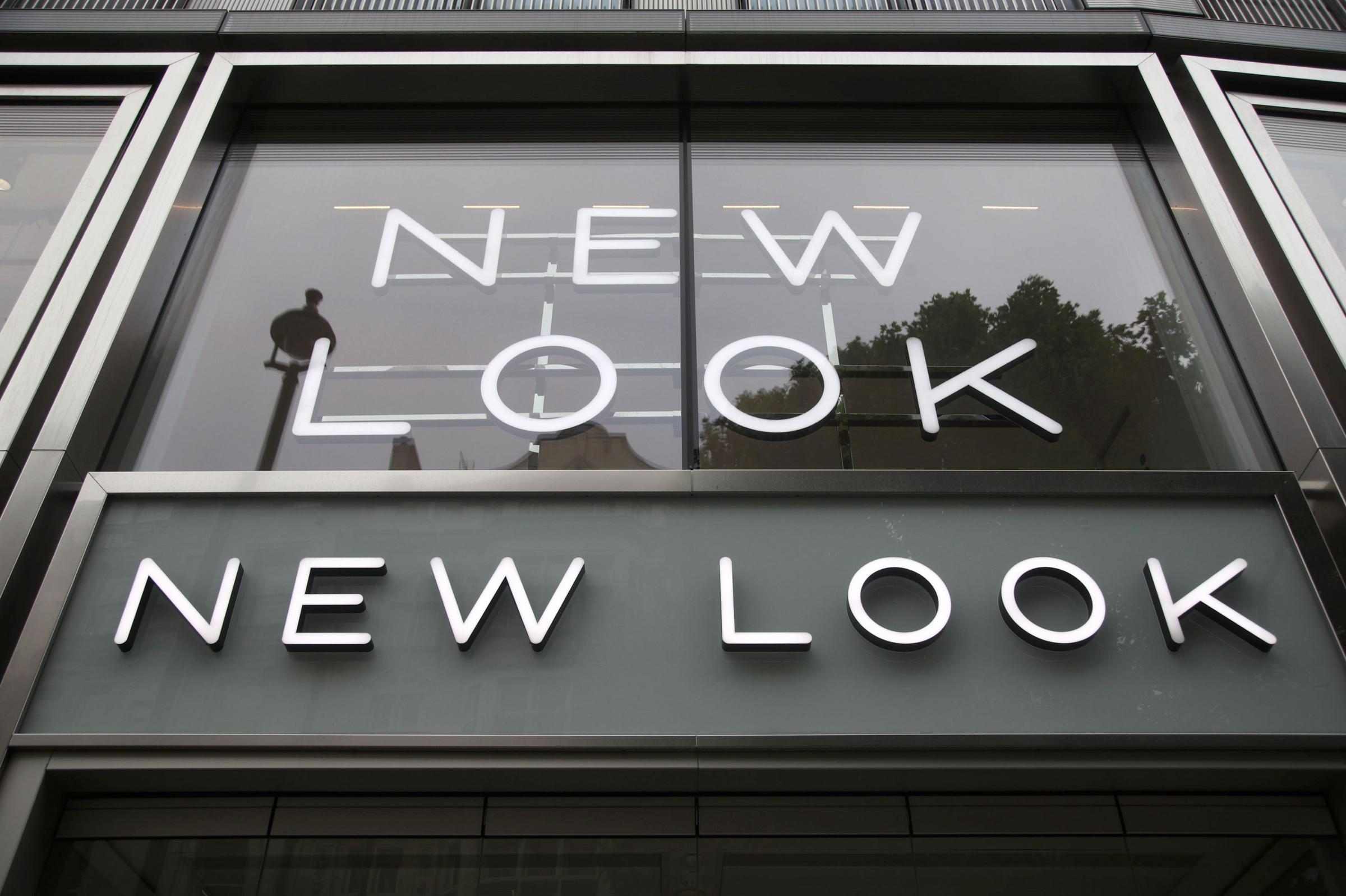 A branch of New Look. Picture: PA