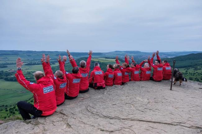 FUNDRAISE: Cleveland Mountain Rescue Team on Roseberry Topping