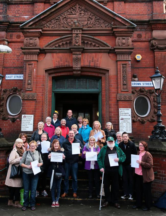 LIBRARY: Friends of Darlington Libraries will take their fight to save Crown Street back to court Picture: SARAH CALDECOTT.
