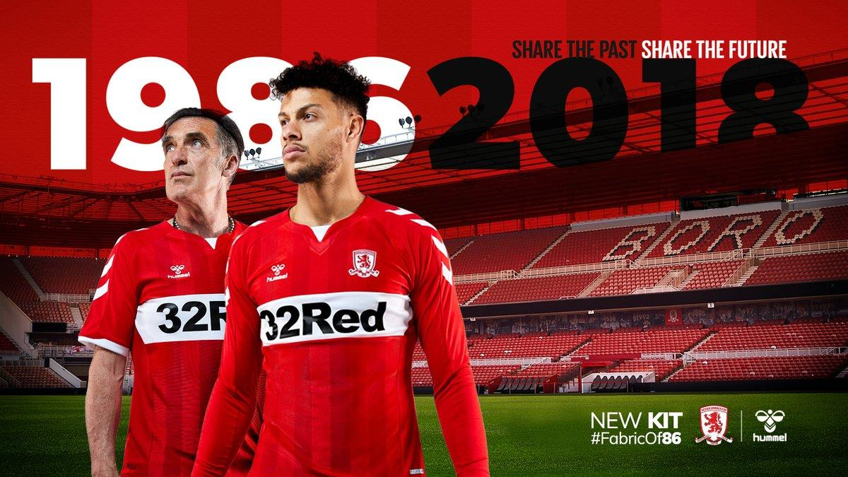 Fans Queue To Get Their Hands On 1986 Inspired Boro Kit As Teesside Celebrities Don Theirs
