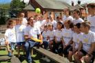 Michael Vaughan at Chester Le Street, where he was  supporting children's charity Chance to Shine during Yorkshire Tea National Cricket Week.