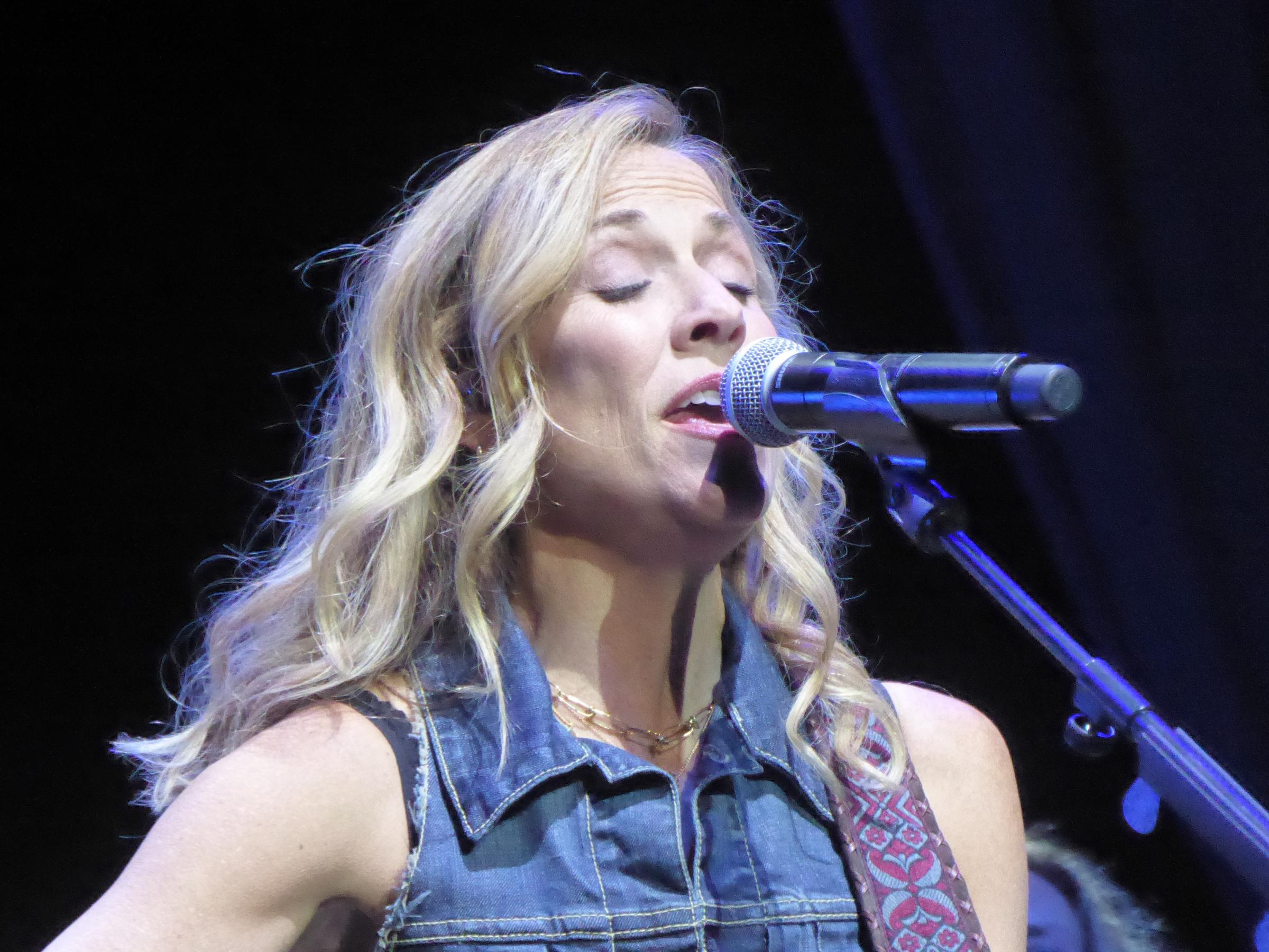 FUN: Sheryl Crow on stage at the Sage