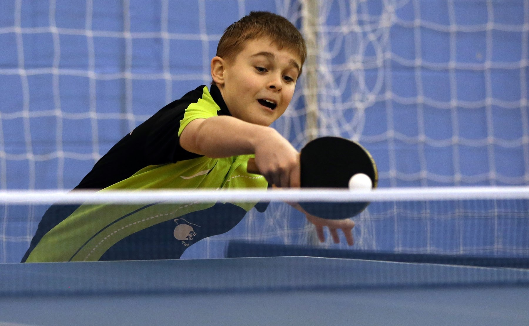 CELEBRATION: Bishop Auckland Table Tennis Club is holding an open day to celebrate National Table Tennis Day Picture: CHRIS BOOTH.
