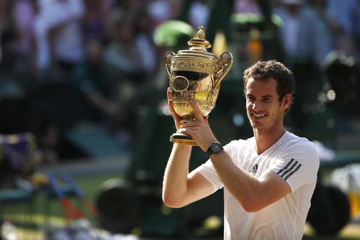 25de04a54e Five years ago  Andy Murray wins Wimbledon