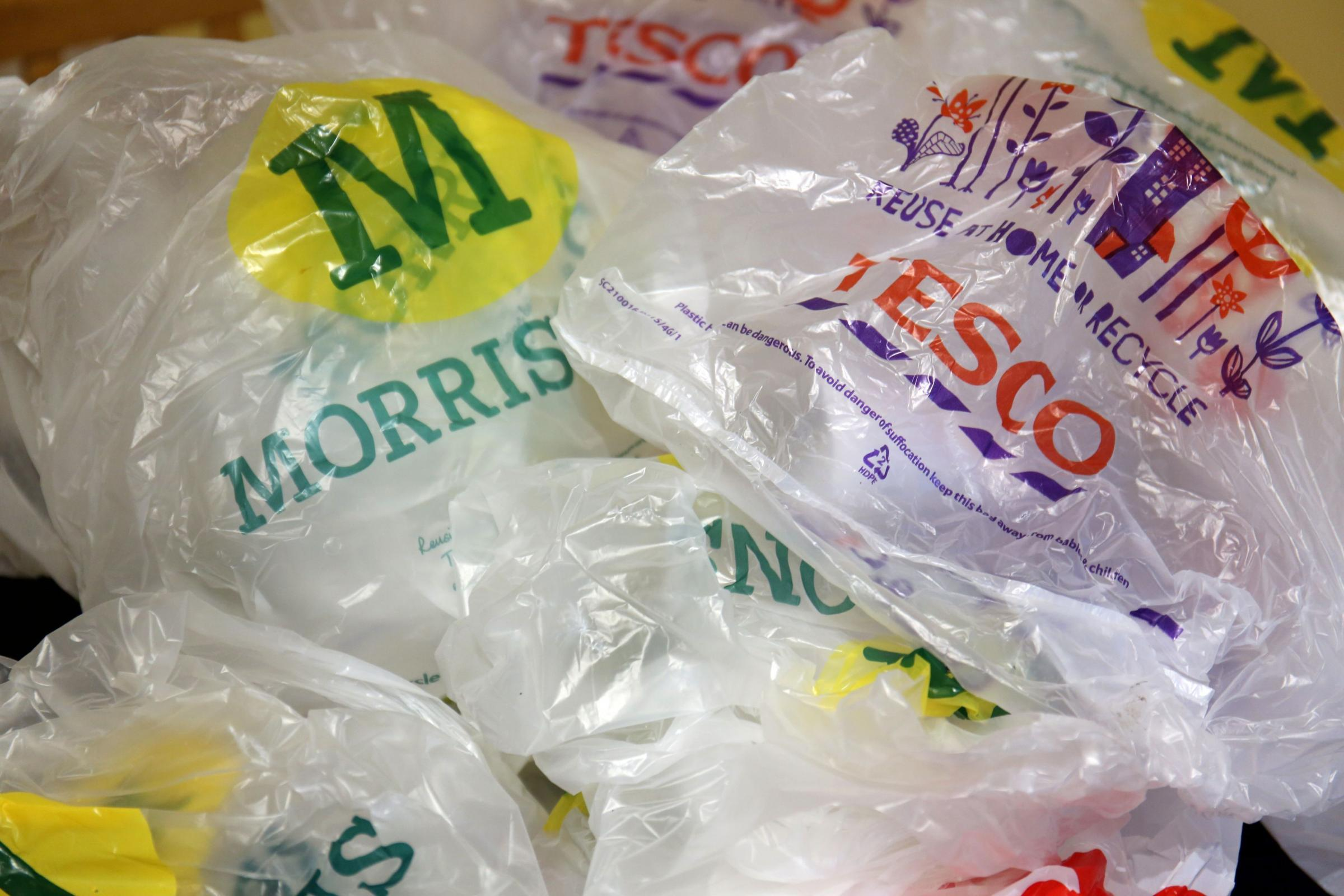 Obvious, but it still needs saying - people are not plastic bags Picture: CHRIS RADBURN/PA