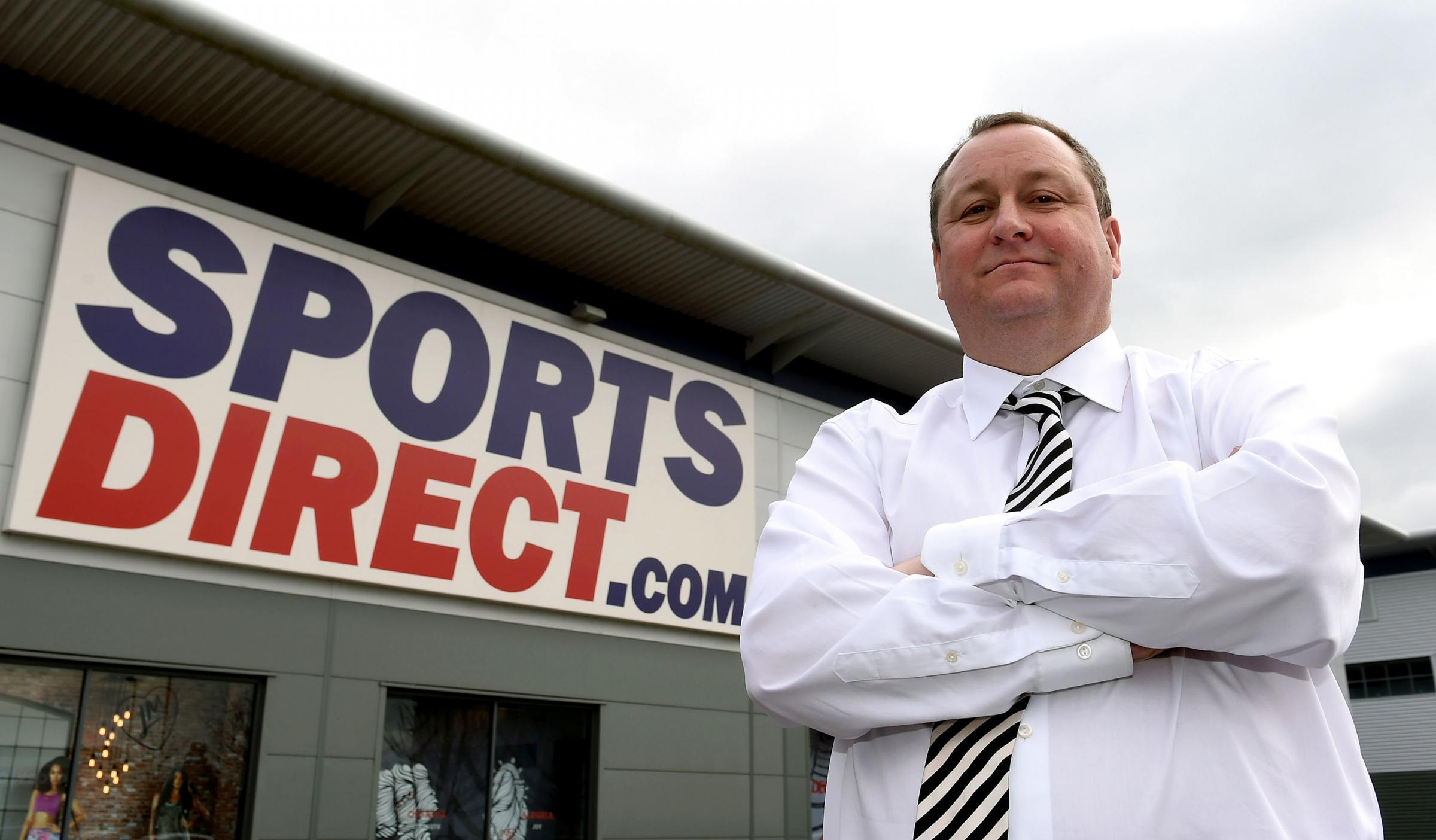 Sports Direct owner Mike Ashley