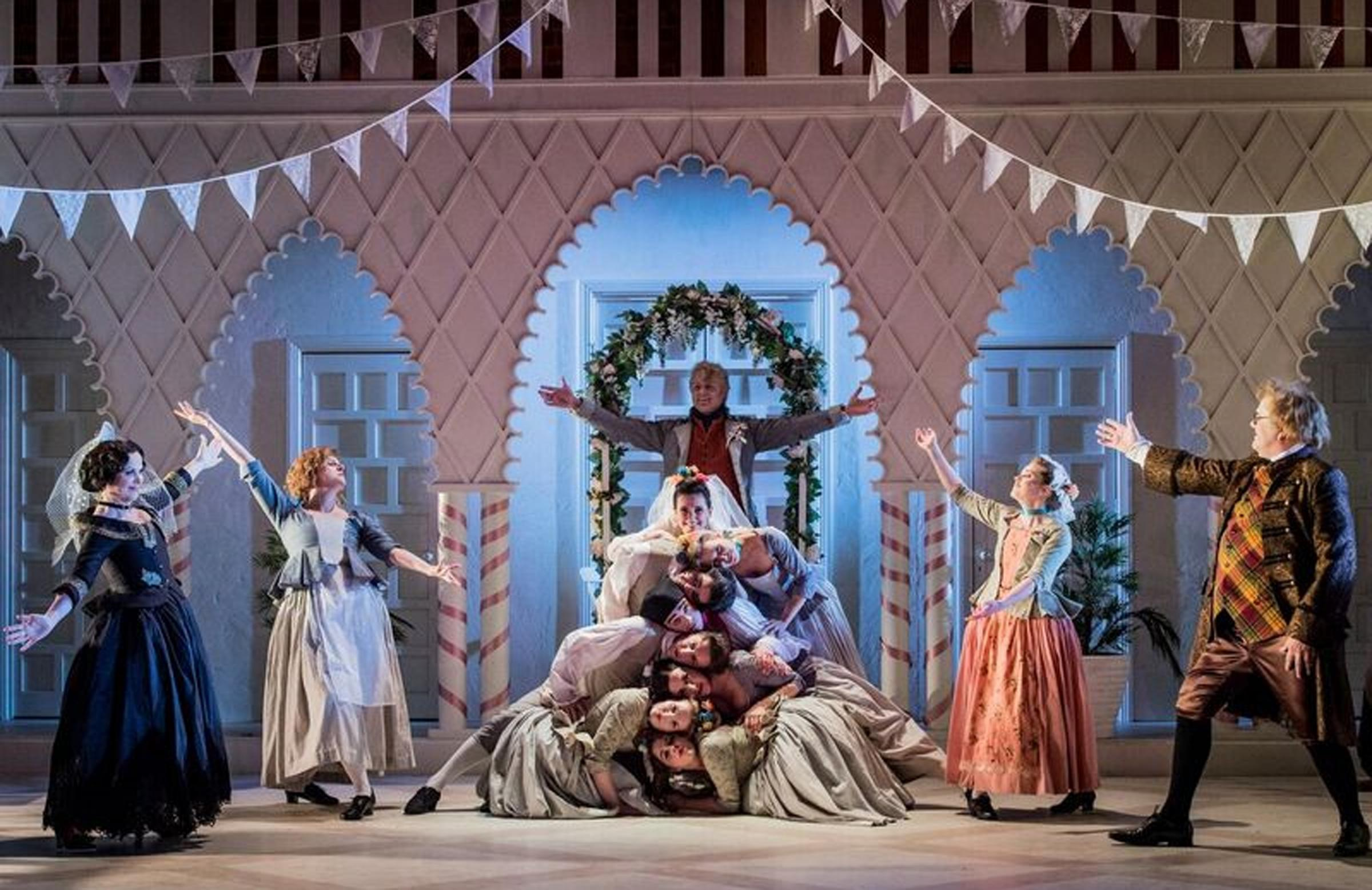 OPERA: The Marriage of Figaro Picture: ROBERT WORK-MAN