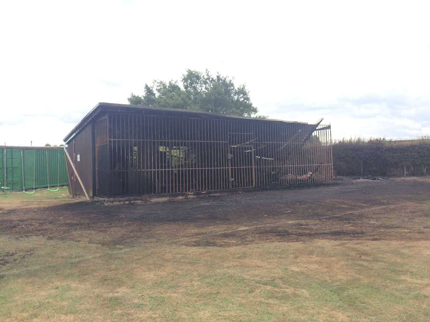 Campaign starts to help club rise from ashes of arson attack