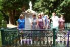 SACRIFICE: Members of the Durham Sor-optimists visit the grave of Suffragette Emily Wilding Davison