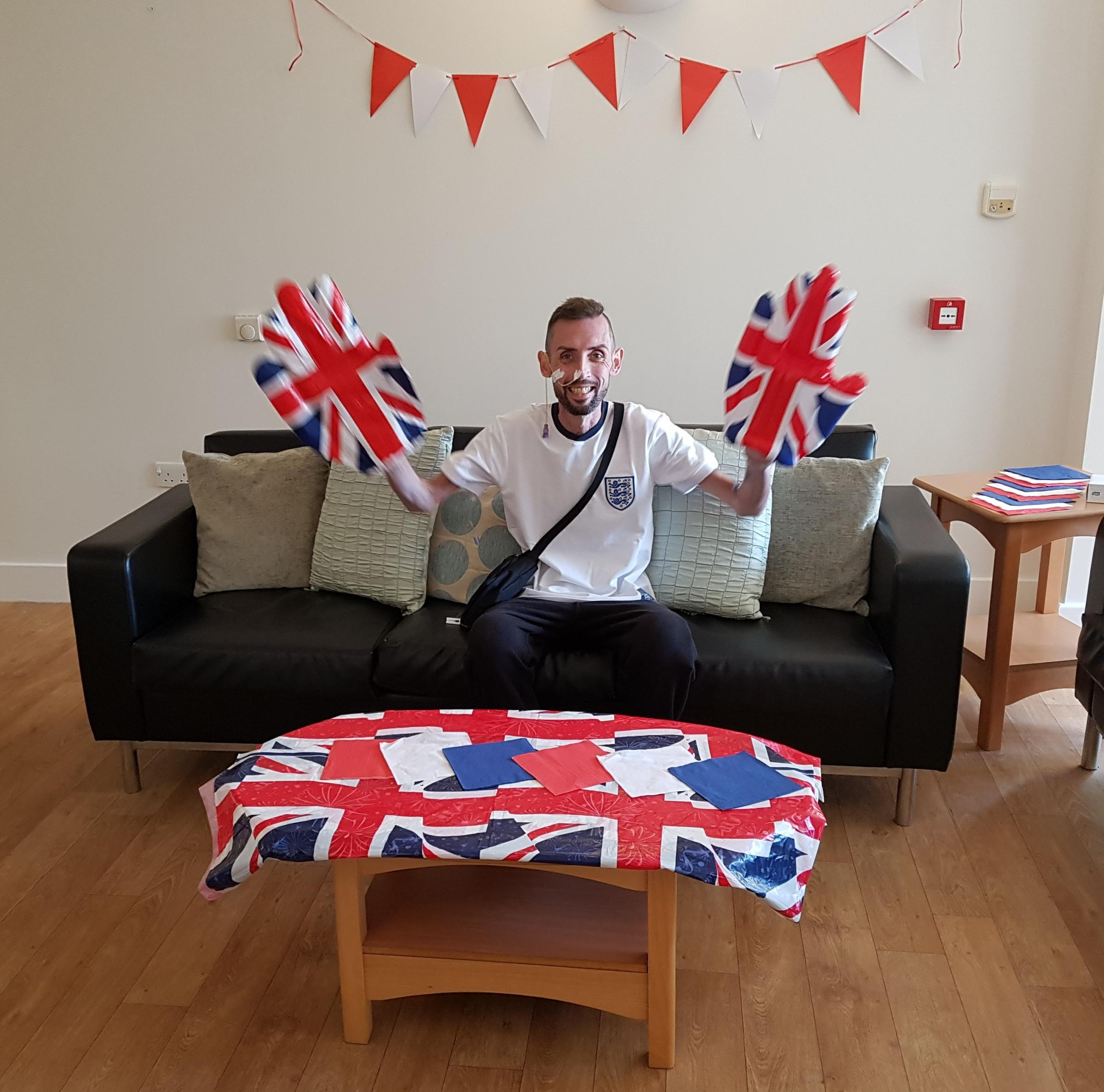 SUPPORT: Mark Lyle ready to watch England play