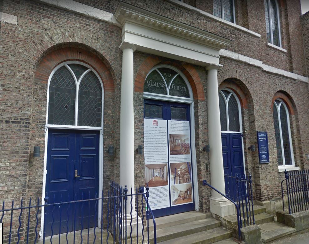 APPEAL: The church on Saville Street, Malton, will also become a community hub. Picture: Google