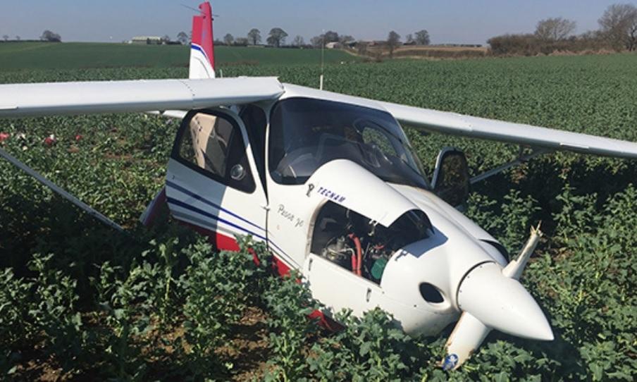 Investigation into plane crash...