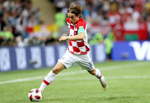 The Northern Echo: Luka Modric