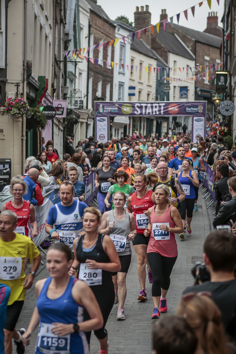 READY: Durham City run is taking place in the city centre tonight. Picture: KATE MARSDEN
