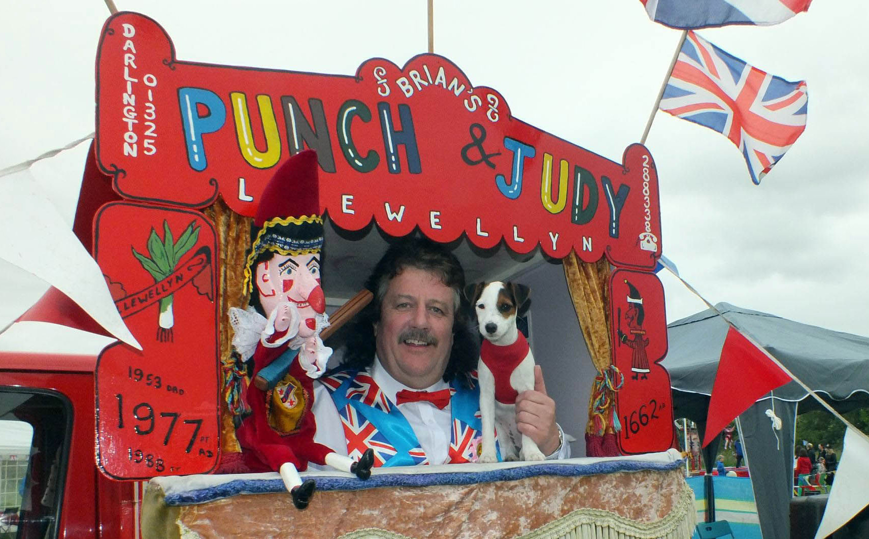 Punch and Judy man Brian Llewellyn, 64, who denies his show glorifies domestic violence after a school cancelled a booking when he refused to stop Mr Punch from hitting his wife