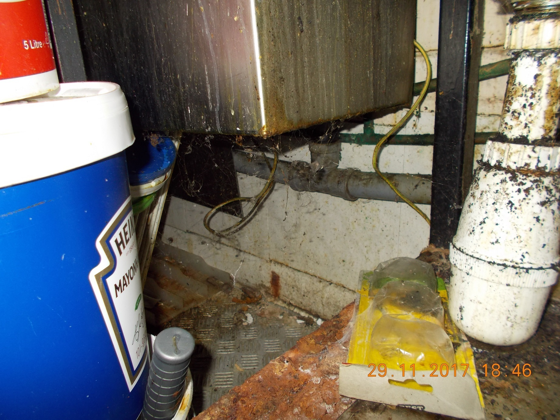 Pictures Of Newton Aycliffe Takeaways Filthy Kitchen The