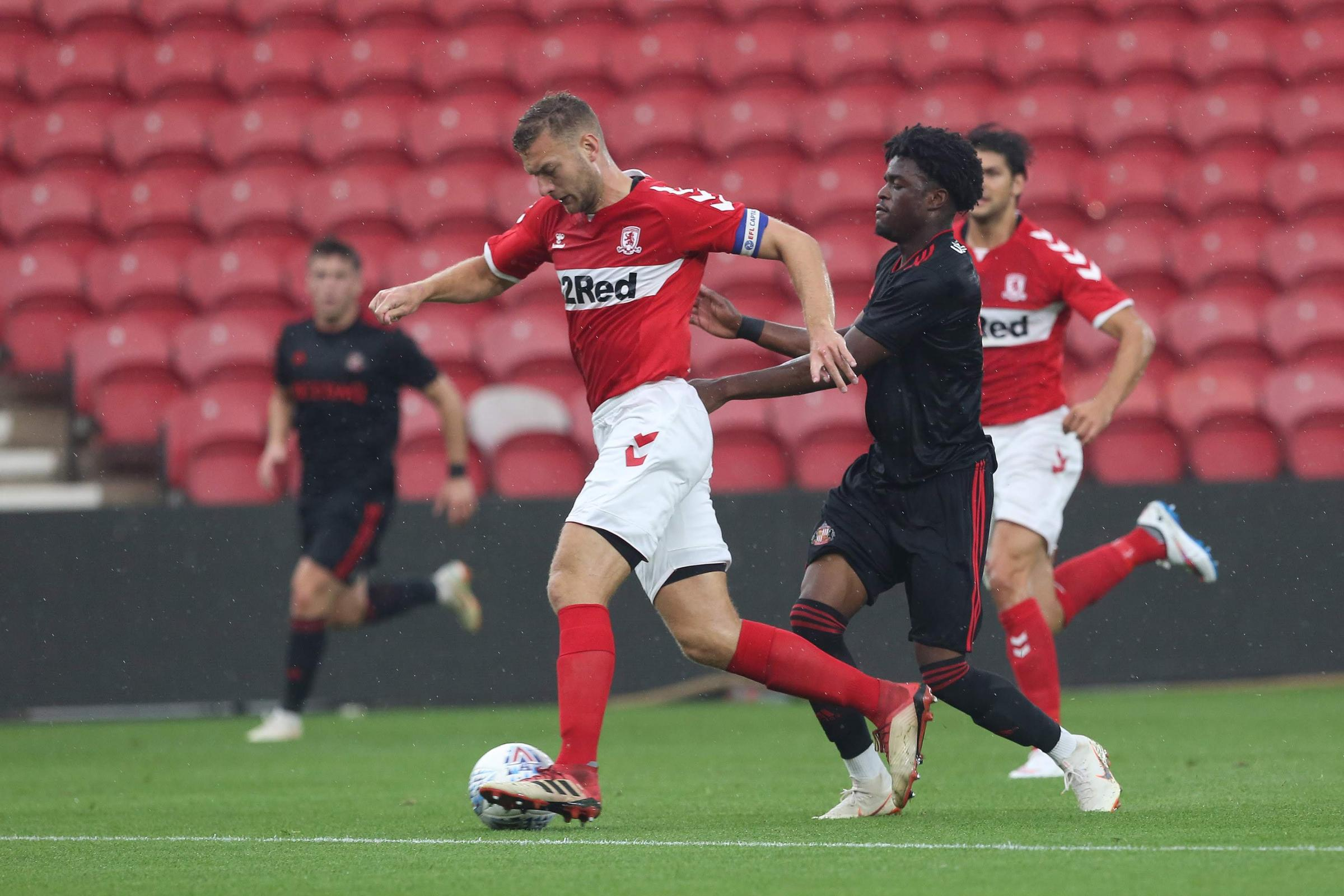 WANTED: Ben Gibson is wanted by Burnley and Everton
