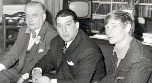 SIXTIES' HEADLINERS: Lord Boothby, Ronnie Kray and Leslie Holt from C4's The Gangster and the Pervert Peer