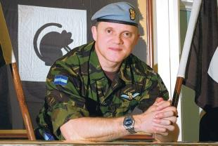 DELIGHTED TO BE BACK: The new Catterick Garrison commander, Brigadier Richard Felton