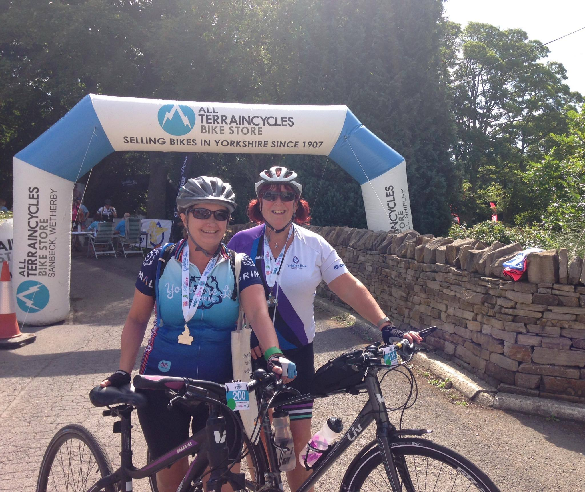 Entrants in this year's Yorkshire Lass Cycling Club sportive enjoyed three new routes