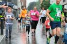 One of the young runners in the Darlington 10K fun run. Pictures: Sarah Caldecott