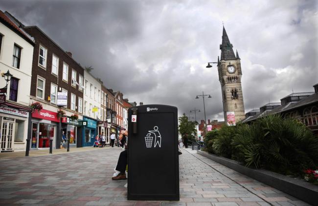 Bigbelly in Darlington Council UK