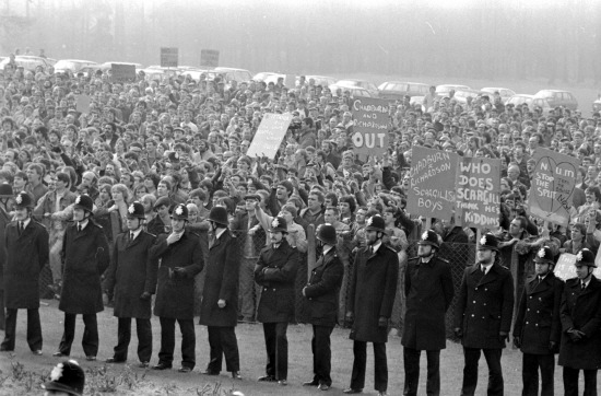 MINERS' STRIKE: A new banner will be created paying tribute to and drawing inspiration from the 1984-85 miners' strike