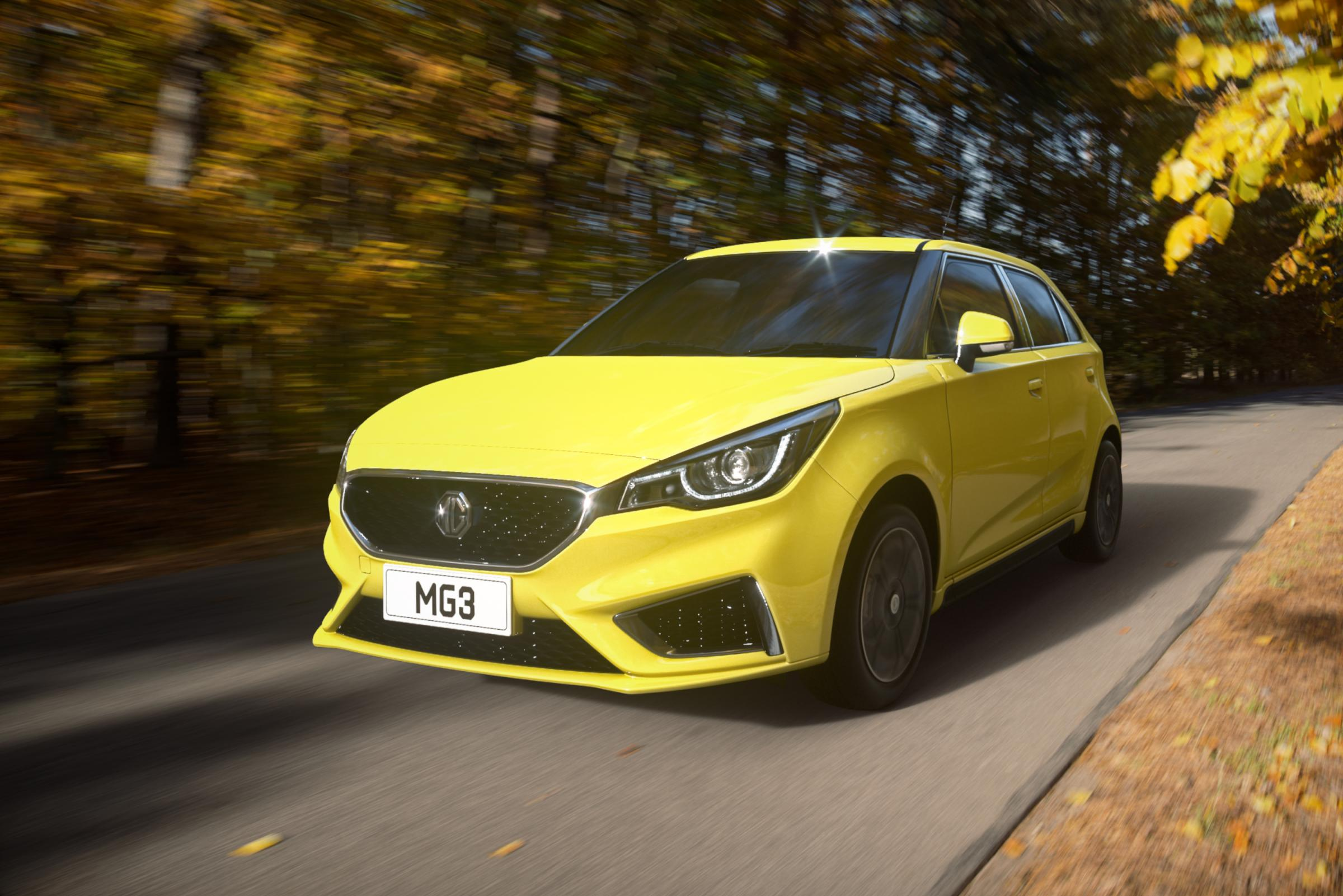 New car launch:  MG3 hits the road