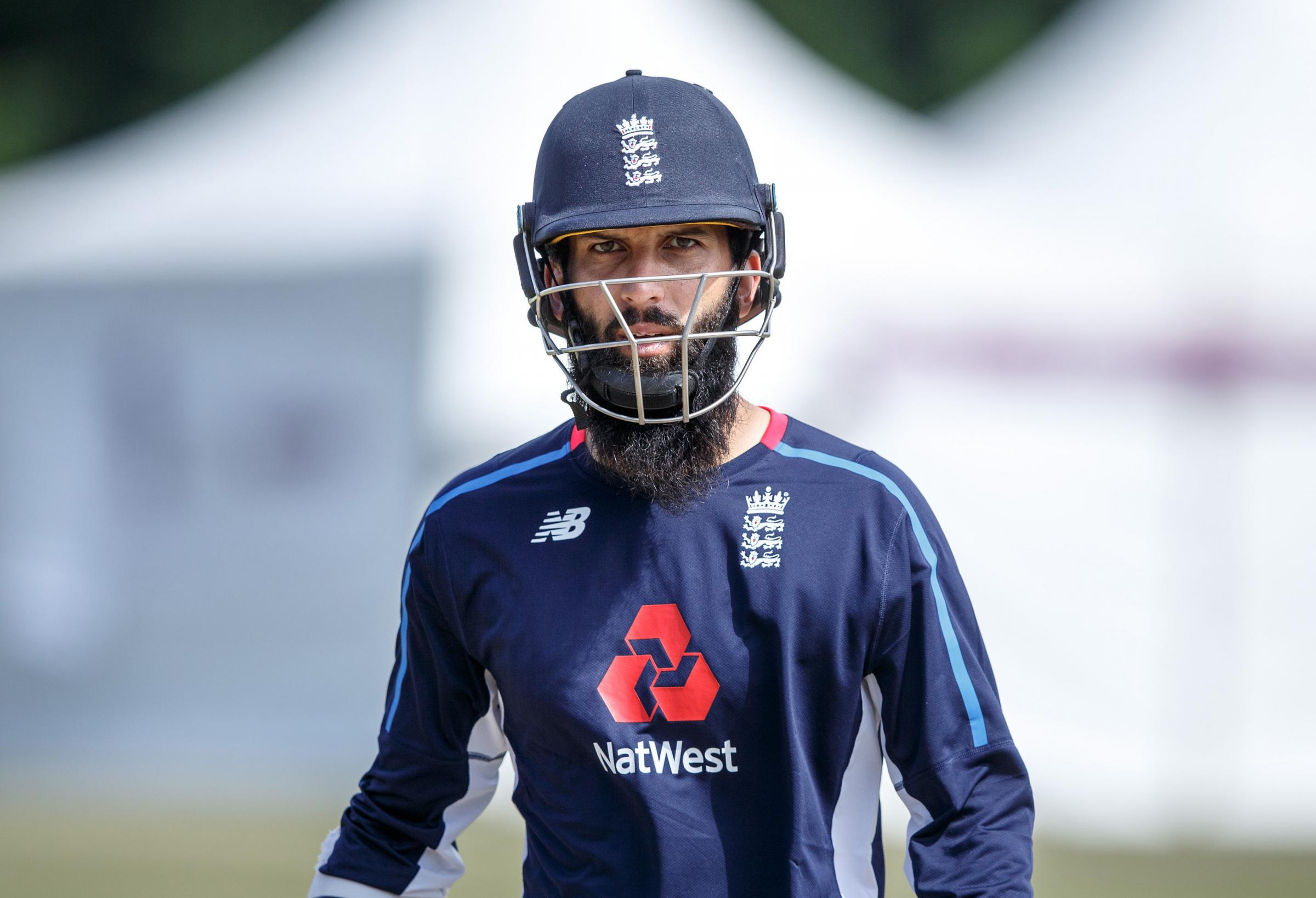 England's Moeen Ali during a nets session at The Grange, Edinburgh. PRESS ASSOCIATION Photo. Picture date: Saturday June 9, 2018. See PA story CRICKET England. Photo credit should read: Robert Perry/PA Wire. RESTRICTIONS: Editorial use only. No commer