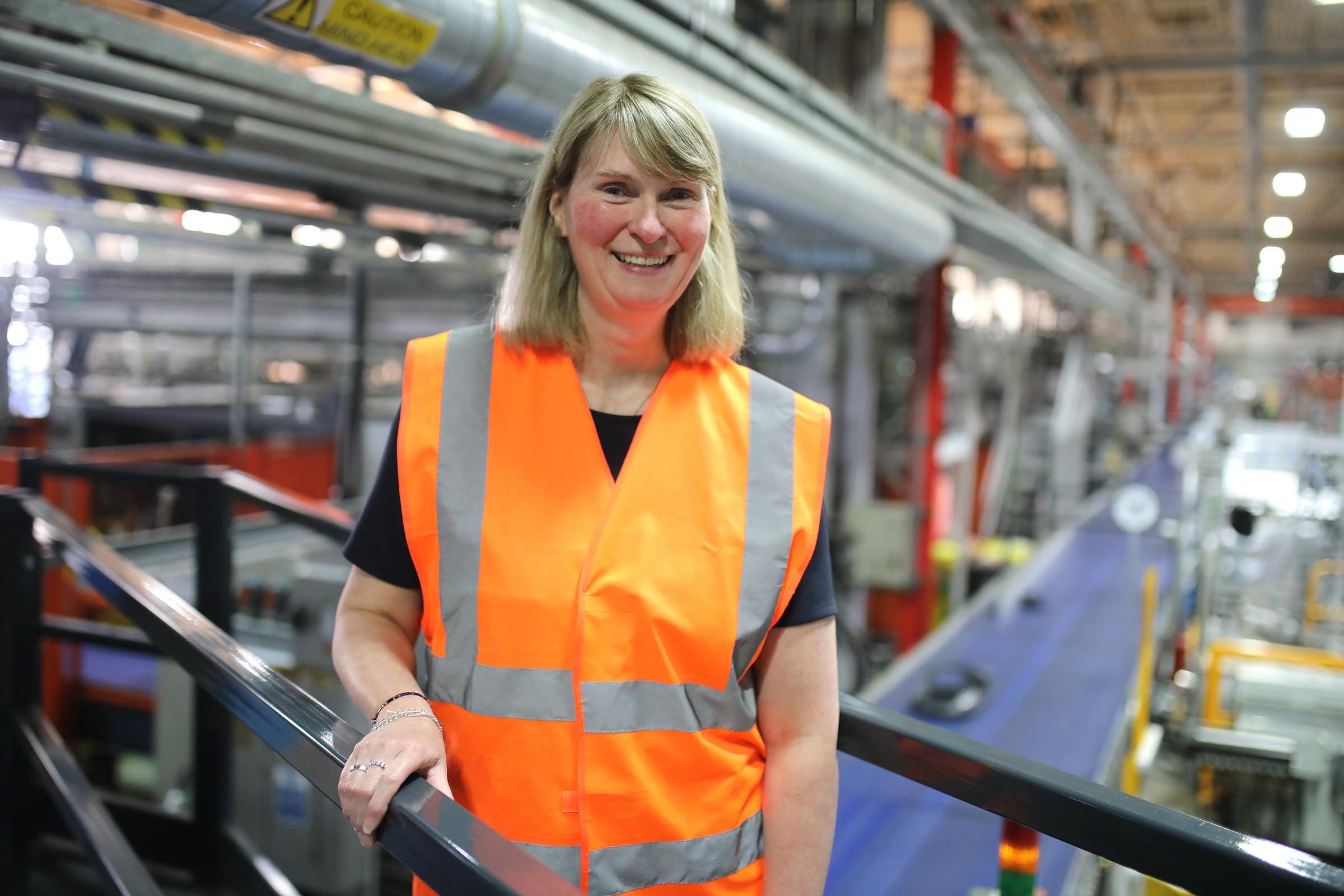 ROLE: Caraline Robinson, manufacturing director at Husqvarna  Picture: DAVE CHARNLEY PHOTOGRAPHY