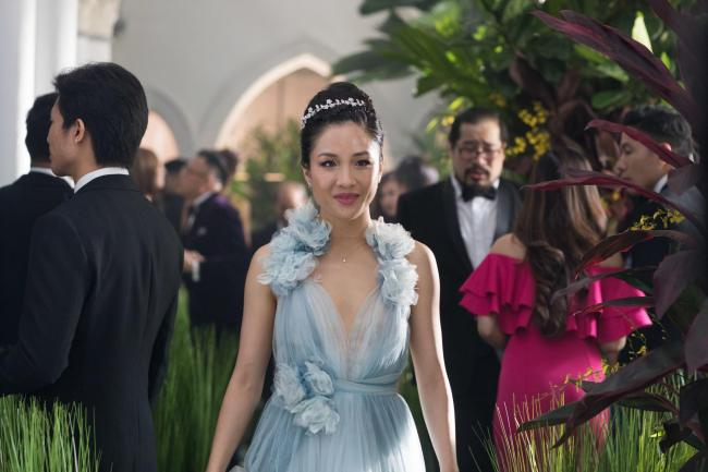 Crazy Rich Asians. Pictured: Constance Wu as Rachel.