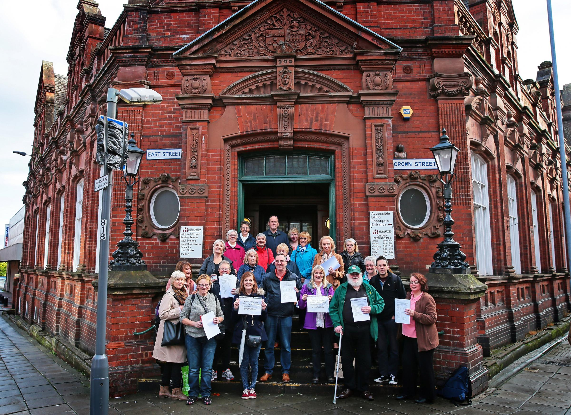 LIBRARY: Friends of Darlington Libraries launch a new survey as consultation into Crown Street continues Picture: SARAH CALDECOTT.