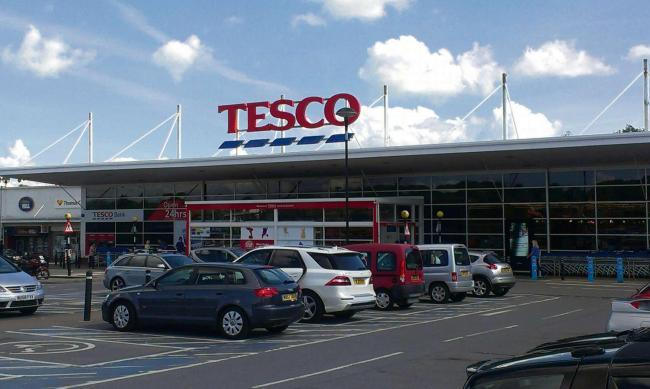 SUPPORT: Tesco is holding a special Bags of Help scheme for military charities