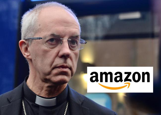 Archbishop of Canterbury Justin Welby took aim at online giant Amazon as he delivered a speech at the TUC. Picture: PA Wire