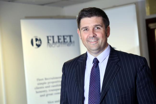 Neil O'Connor, founder and managing director of Fleet Recruitment