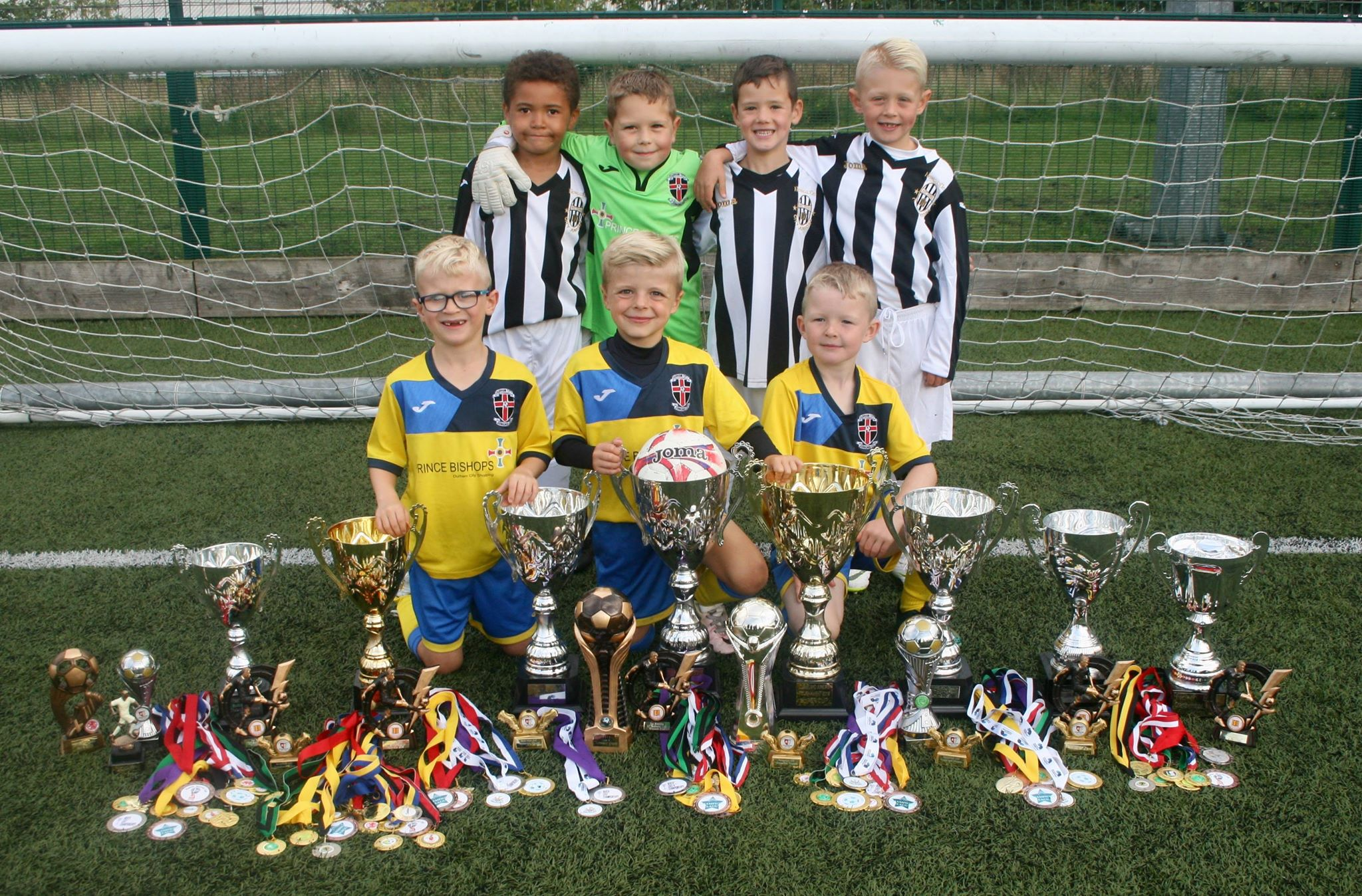 Junior Footballers Crowned North East Champions The Northern Echo