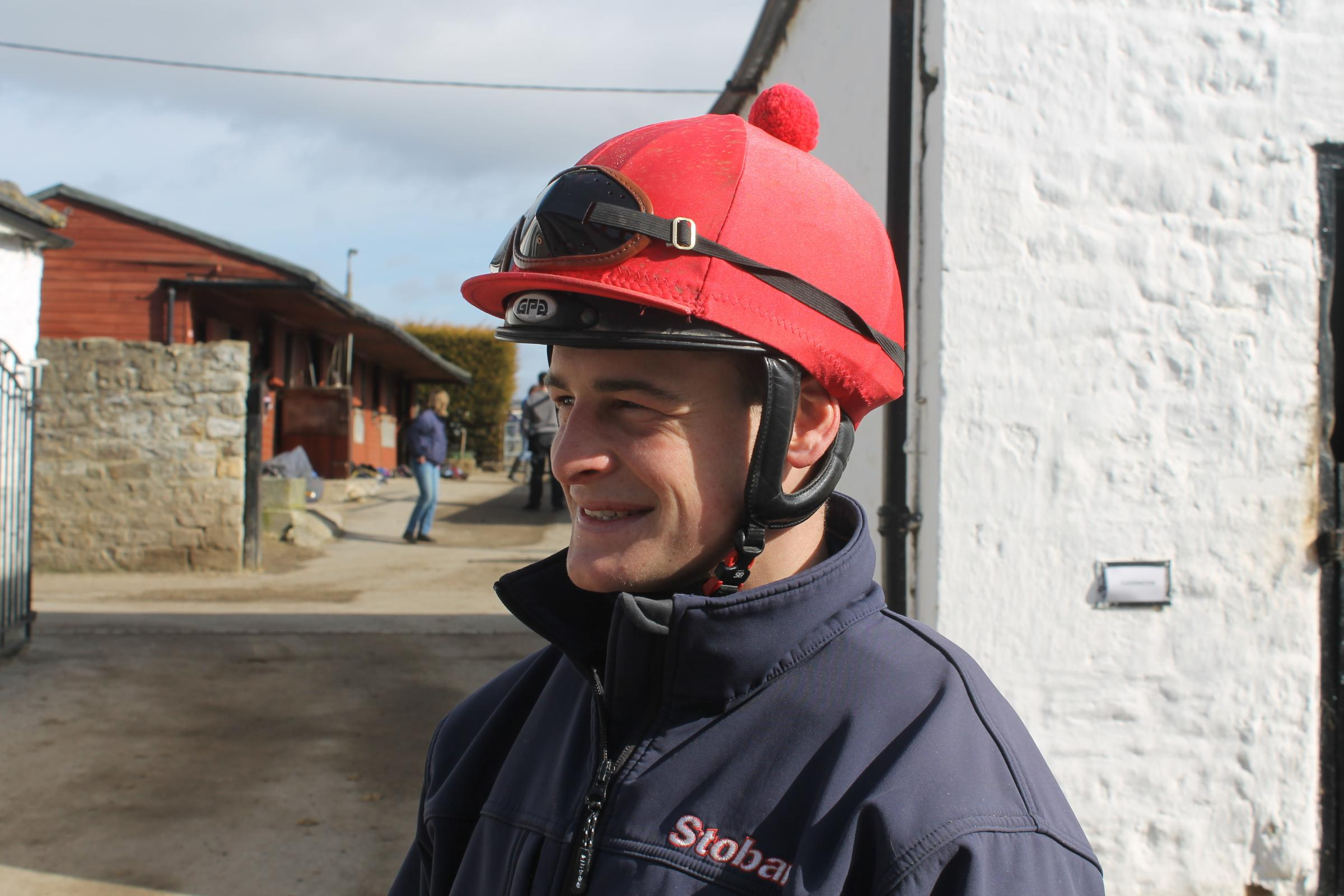 STELLAR SEASON: Callum Rodriguez has enjoyed a successful season riding out of Michael Dods' Denton Hall stable, with the 21-year-old having ridden out his claim to leave the apprentice ranks