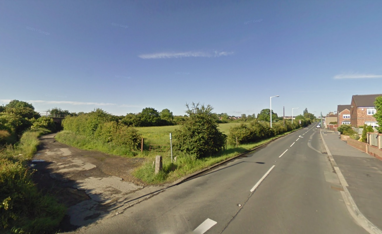 Councillors have passed plans to build on two sites off Yarm Road in Middleton St George, Darlington Picture: GOOGLE