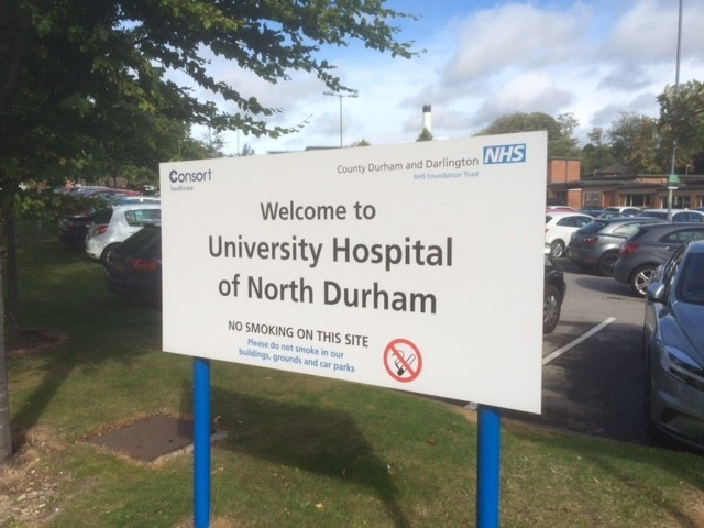 THREATS: Defendant told a doctor at Durham's University Hospital of North Durham that he intended to kill his partner, court heard