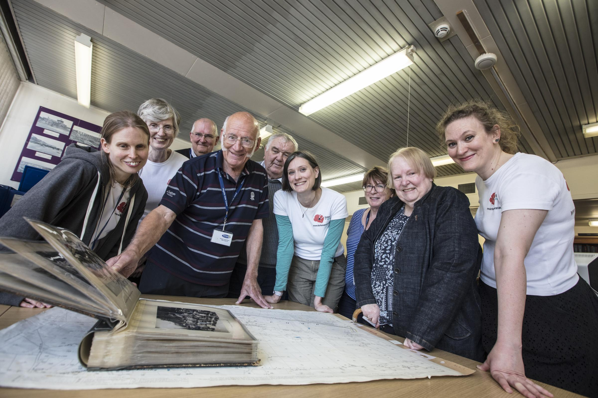WAR: The Durham at War project has allowed visitors to explore County Durham's war experiences like never before