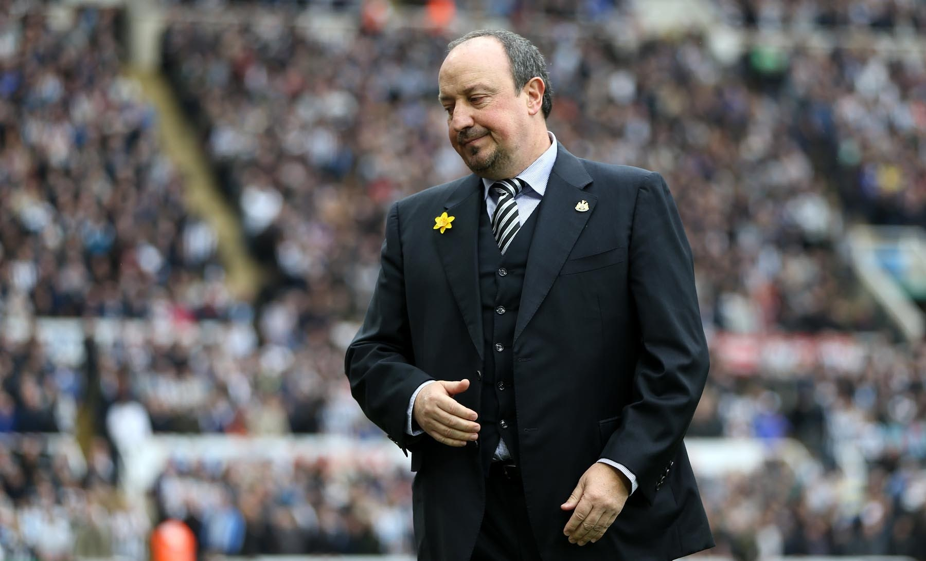 Rafa Benitez, Newcastle manager. Picture: PA