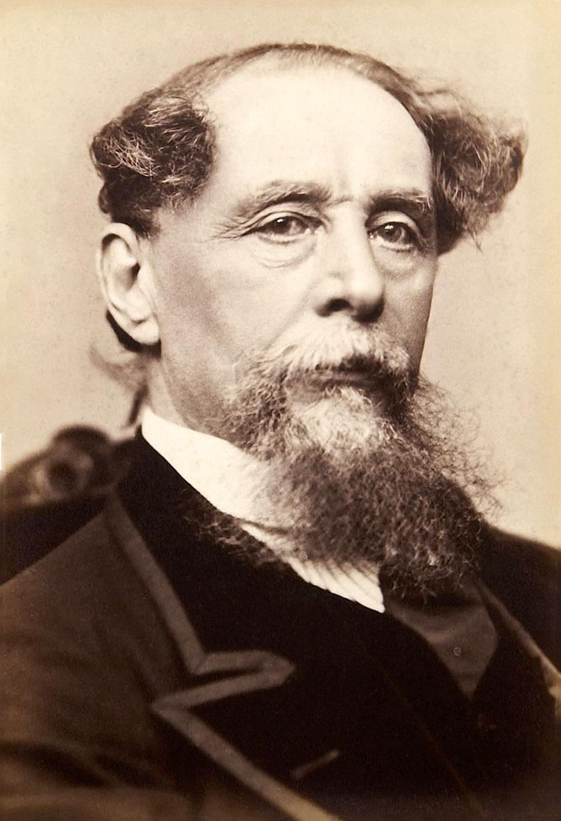 FAMOUS FACE: Charles Dickens, a performer who had the X factor