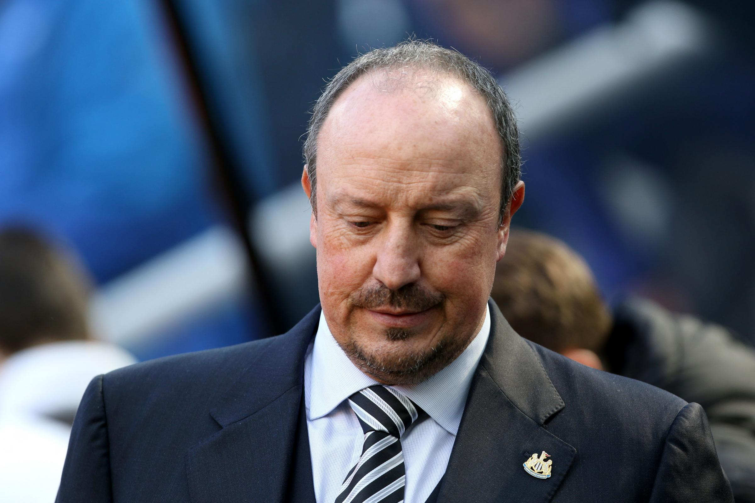 UNCERTAIN FUTURE: Newcastle United manager Rafael Benitez