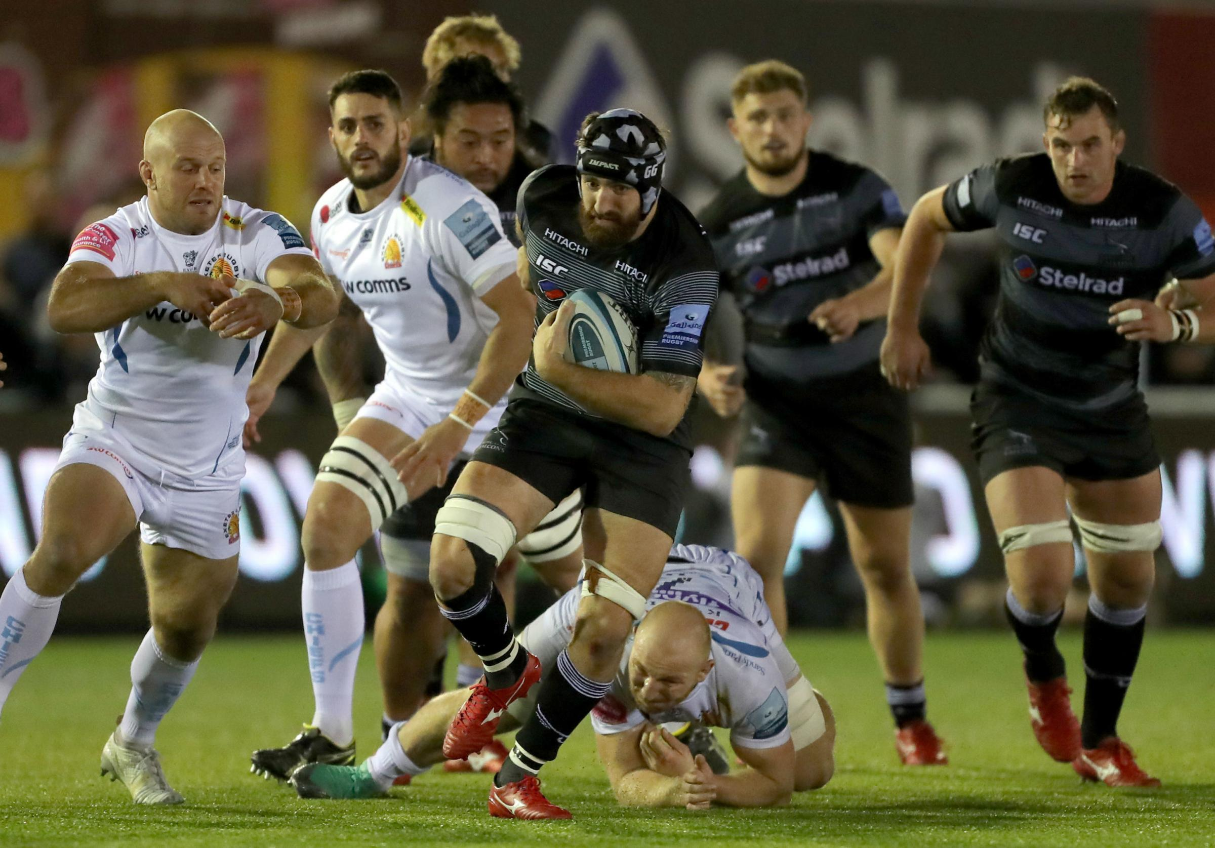 Newcastle Falcons Gary Graham during the Gallagher Premiership match at Kingston Park, Newcastle. Picture: PA