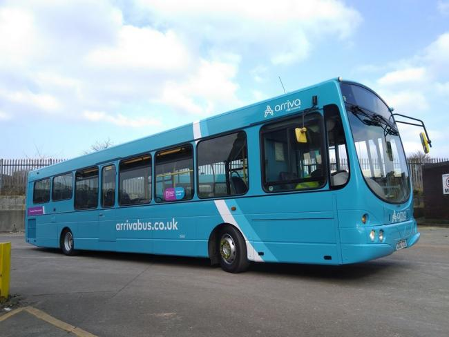 Generic photo of an Arriva Wales bus. PICTURE: Facebook.