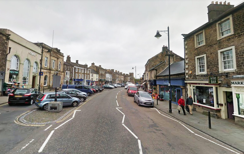 APPEAL: Police have appealed for information or witnesses following an assault in Barnard Castle. Picture: Google
