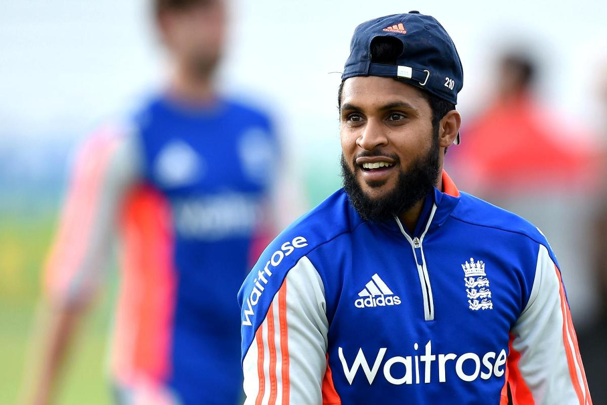 England's Adil Rashid during a nets session at Headingley, Leeds. Picture: Martin Rickett / PA Wire