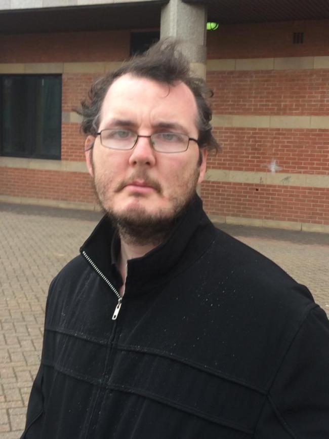 DEVIANT BEHAVIOUR: pervert David Littlefair outside of Teesside Crown Court